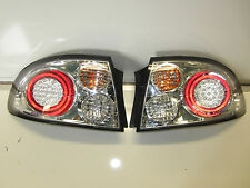 HOLDEN COMMODORE VT VX CHROME LED ALTEZZA TAIL LIGHTS PAIR NEW