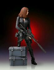 GENTLE GIANT CAPTAIN AMERICA: THE WINTER SOLDIER BLACK WIDOW 1:8 STATUE ~NEW~