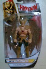 "Hawkman total heroes 6"" inch ACTION FIGURE Mattel 2014 NIB DC comics"
