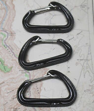 Black Diamond Hoodwire Carabiner 3pk Rock Climbing Sport Wiregate New
