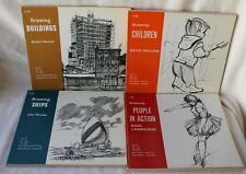 4 - How To Draw Buildings, Ships, People, Children Watson Guptill 1961/62