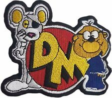 Danger Mouse & Penfold Badge Embroidered Patch Sew/ Iron-on 10cm