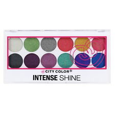 CITY COLOR Intense Shine Eye Shadow Palette - Metallic