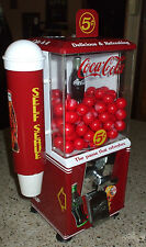NW 60 Coca-Cola theme gum candy nut vend machine cup dispenser
