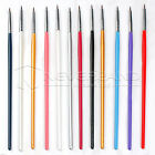 12tlg Profi Nagelpinsel Nail Art UV Gel Acryl Pinsel Nageldesign Liner Stift Pen