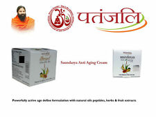 2X Patanjali Saundarya Anti Aging Cream-15gm each-Live With Ageless Younger Face
