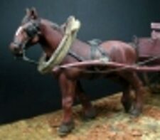 1/35 Scale Draught horse - Ulysse - Cheval de trait - resin model kit