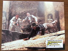 HARRISON FORD PHOTO D'EXPLOITATION 1989 INDIANA JONES ET LA DERNIERE CROISADE