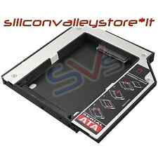 "BAY CADDY PER SECONDO HARD DISK 2,5"" NOTEBOOK HDD SSD DVD Bay 12,7 mm SATA"