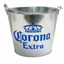 Corona Galvanized Metal Ice Bucket