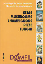 Domfil MUSHROOMS Thematic Catalogue, 2nd Edition, NEW