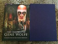VERY BEST OF GENE WOLFE Wolfe 100 COPY SIGNED/LIMITED/ DELUXE SLIPCASED HC OOP