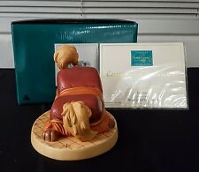 """WDCC """"Frisky Footstool"""" from Disney's Beauty and the Beast in Box with COA"""