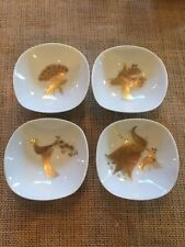 "Rosenthal Set Of 4 Finger/Trinket Dish Or Bowl 3"" X 1 1/4"" Rare Set."