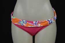 Lauren Ralph Lauren Womens 12 Pink Orange Paisley Print Bikini Bottoms Swim Suit