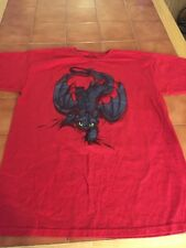 HOW TO TRAIN YOUR DRAGON TOOTHLESS RED MEN'S Medium  T-SHIRT
