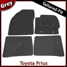 Toyota Prius Tailored Fitted Carpet Car Mats GREY (2009 2010 2011 2012 ...)