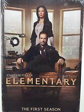 SEALED! Elementary Season 1 DVD 2013 Johnny Lee Miller Lucy Liu Sherlock Holmes
