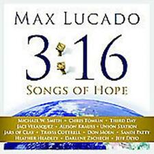 CD + DVD  Max Lucado 3:16 SONGS OF HOPE Darlene Zschech Chris Tomlin M.W. Smith