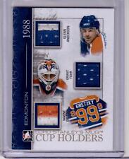 ANDERSON GRANT FUHR WAYNE GRETZKY 13/14 ITG Lord Stanley's SP /10 GOLD Jersey
