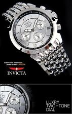 INVICTA MEN'S PRO DRIVER CHRONOGRAPH 2 TONE DIAL LUXURY WATCH 2875