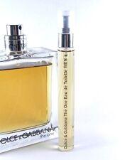 Dolce & Gabbana D&G The One 10ml for Men Travel SAMPLE EDT 0.33 oz