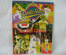 1997 World Series MLB The Fall Classics Official Program