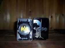 DC COMICS BATMAN WRIST WATCH COLLECTORS WATCH COMIC BOOK HERO APPAREL NEW FUN