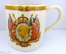 George V and Queen Mary Silver Jubilee Commemorative Mug