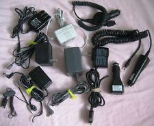 Assorted Lot 10 Cell Phone Car & Home Chargers Adaptors Motorola,Panasonic etc.