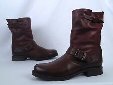 Frye 'Veronica Shortie Slouch' Boot- Dark Brown- Size 10 B  (BX6)