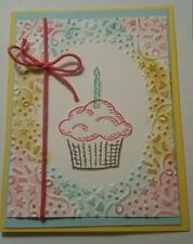 Stampin Up! CONFETTI Textured Impressions Embossing Folder NEW Retired