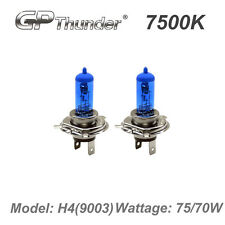GP Thunder II 7500K H4 9003 Xenon Light Bulb Pair 70W 75W Super White GP75-H4