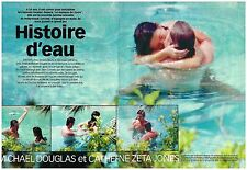 Coupure de presse Clipping 1999 (6 pages) Michael Douglas & Catherine Zeta Jones