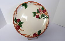 Franciscan Apple 14 Inch Round Platter Chop Plate American Backstamp