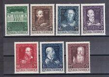 Österreich 1948 postfrisch MiNr.  878-884   80 Jahre Künstlerhaus  Wien