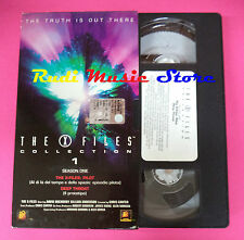 VHS film THE X FILES COLLECTION 1 season one 1999 DEAGOSTINI 1XF01 (F88*) no dvd