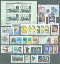Türkei Jahrgang  1985 Nr. 2700  - 2734 ** MNH Kat. 71,00 €