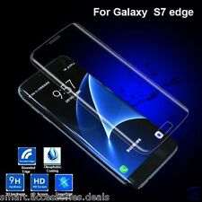 For Samsung Galaxy S7 Edge 3D Curved 9H Tempered Glass Screen Guard Transprent