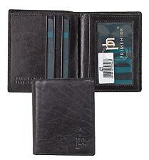 Vendita Nuovo dal primo Hide Stupendo Uomo Nero Pelle porta carte di credito