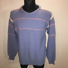 Mens Dale Of Norway Scandinavian Wool Jumper Sweater Size 52 (L) Perfect!