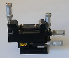 Melles Griot MicroBlock 4 Axis Device Manipulators with Differential Micrometers