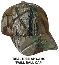 Realtree AP Camo BALLCAP Hat All Purpose Hunting Ballcap USMC Army Paintball