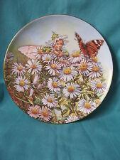 Michaelmas Daisy flower fairy plate Cicely Mary Barker B6738 Border china 19cm