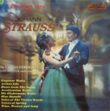 Johann Strauss(Vinyl LP)Greatest Hits-Stereo Gold Award-MER 311-UK-1970-VG+/NM