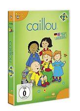 4 DVDs  *  CAILLOU BOX  1 - 4 #  NEU OVP §