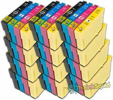 12 Sets Compatible T1285 Ink (48 Cartridges) Epson Stylus SX125 (Non-oem)