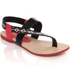 Women 'W00699' Flat Thong Sandal- Fuchsia UK 5 EU38 JS12 76