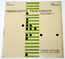 Imported PERSUASIVE PERCUSSION Vol.2 Feat. TERRY SNYDER & ALL STARS LP Record