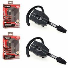 2x Bluetooth Wireless Professional Gaming Headset For Sony PlayStation 3 Black